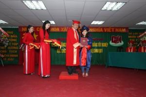 Lễ trao bằng tốt nghiệp năm 2015